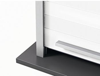 cassette module de volet roulant lamelles en verre esg fa ade en aluminium dans la boutique. Black Bedroom Furniture Sets. Home Design Ideas