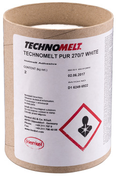 colle thermofusible de bords, Bougies Technomelt PUR 270/7