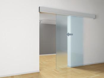 entra nement de porte coulissante pour portes en bois et en verre dans la boutique h fele france. Black Bedroom Furniture Sets. Home Design Ideas