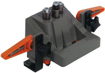 Gabarit de per/çage 41 pi/èces avec tailles de trous de per/çage r/églables avec foret darr/êt de profondeur pour chevilles en bois de /Ø 6//8//10 mm.