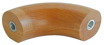 hêtre ou d/'érable avec différentes extrémités edelstahlha Main courante Ø 50 mm de chêne