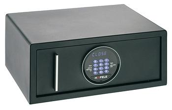 mini coffre fort coffre fort de tiroir noir dans la. Black Bedroom Furniture Sets. Home Design Ideas