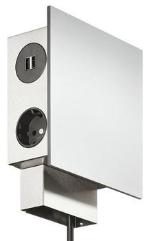 prise de courant pour montage en applique 230 v dans la boutique h fele france. Black Bedroom Furniture Sets. Home Design Ideas
