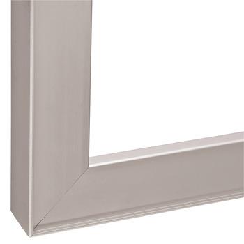 profil de cadre en aluminium pour vitre 26 x 14 mm avec cadre r duit paisseur de verre 4 mm. Black Bedroom Furniture Sets. Home Design Ideas