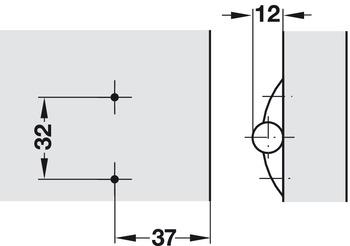 Gjosio Adaptateur de Montage en Aluminium pour tr/épied en m/étal Support de Pince pour Tablette pour iPad Pro Mini 1//4-20 Filetage pour Chaussure Froide