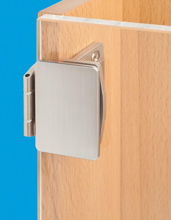 charni re pour portes en verre pour portes en verre fortes r glables en 3 dimensions dans la. Black Bedroom Furniture Sets. Home Design Ideas