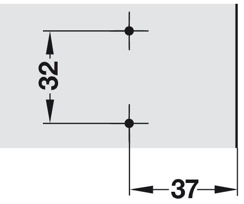 embase en croix h fele duomatic a alliage zingu avec vis pour panneau d agglom r dans la. Black Bedroom Furniture Sets. Home Design Ideas
