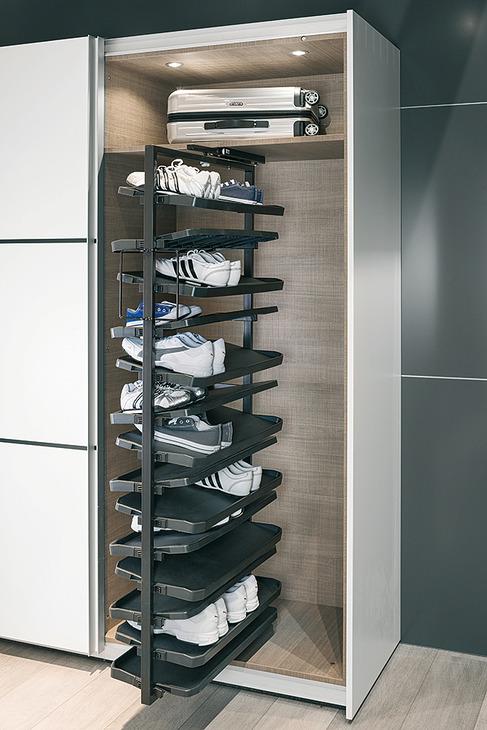 Extension d'armoire avec à chaussures, avec d'armoire rotation à 180°, pour jusqu'à e00d6f