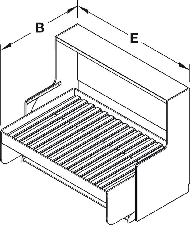 ferrure de lit de bureau tavoletto ferrure de lit de. Black Bedroom Furniture Sets. Home Design Ideas