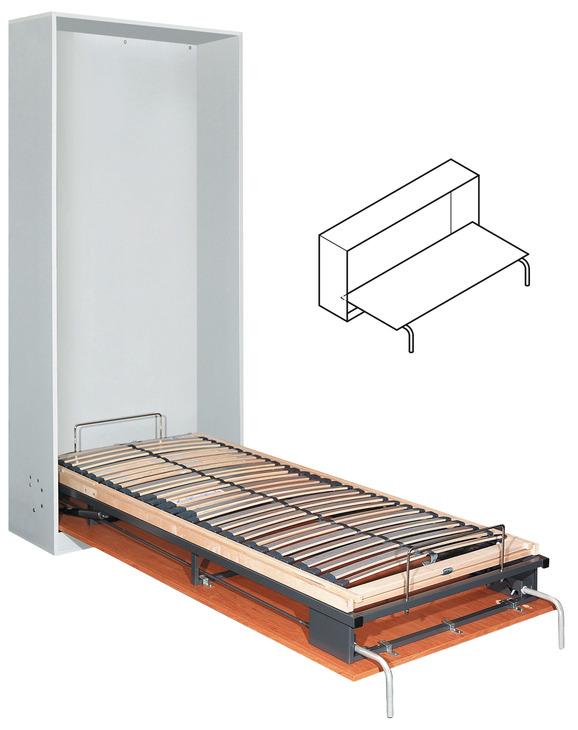 ferrure pour lit escamotable bettlift lit escamotable encastr montage transversal dans. Black Bedroom Furniture Sets. Home Design Ideas
