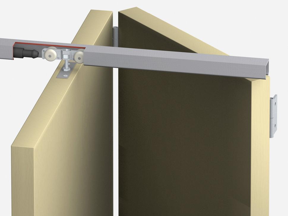 Ferrure Pour Portes Coulissante Pliante T Fold Garniture