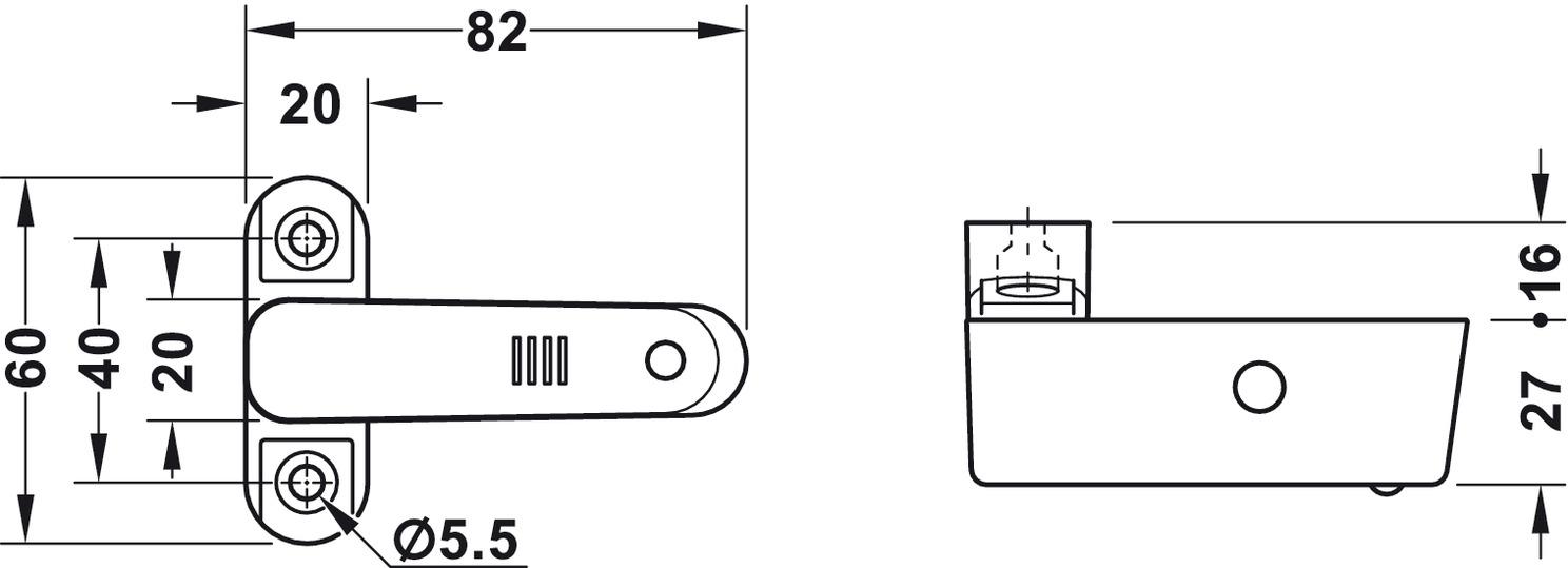 garde porte et fen tre wsf 110 avec alarme dans la boutique h fele france. Black Bedroom Furniture Sets. Home Design Ideas