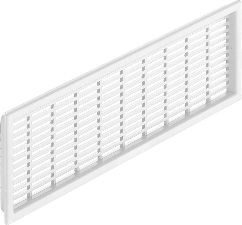 deckma/ß 179 Haeusler-shop grille da/ération en plastique rond avec bride et moustiquaires//raccordement vM150 mm