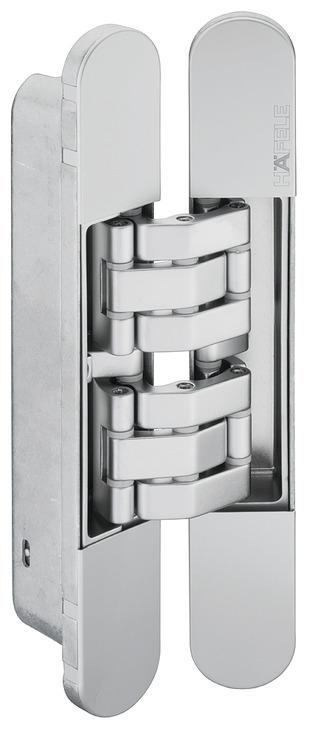paumelle de porte pose invisible pour portes int rieures recouvrement jusqu 39 200 kg. Black Bedroom Furniture Sets. Home Design Ideas