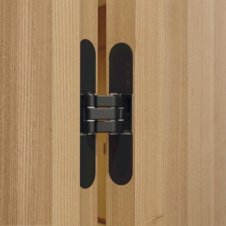 paumelle de porte pose invisible pour portes int rieures recouvrement jusqu 39 80 100 kg. Black Bedroom Furniture Sets. Home Design Ideas