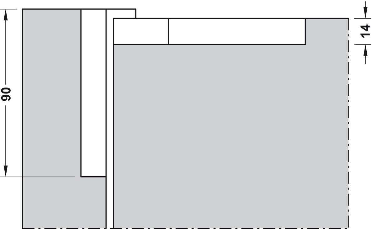 Paumelle de porte sfs intec cir pour portes for Paumelle de porte castorama