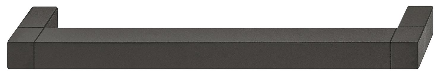 Hafele Levier Poignées sur backplates pour loquet aluminium satiné anodisé