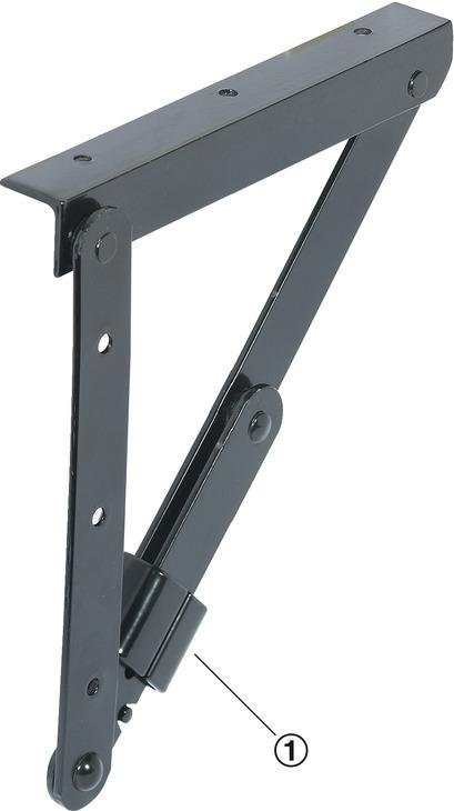 support équerre, rabattable, pour tables et bancs, ferrures de table ...